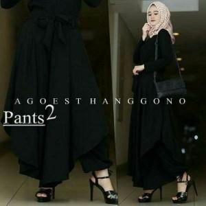 Celana muslim agoest pants black