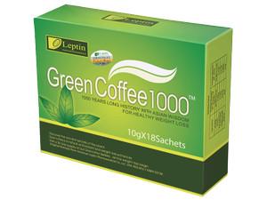 LEPTIN GREEN COFFEE / kopi diet pelangsing ASLI / coffe leptin