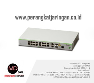 AT-FS980M/18 CentreCOM Layer 3 Fast Ethernet access switch