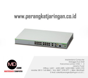 AT-FS980M/18PS CentreCOM Layer 3 Fast Ethernet POE access switch