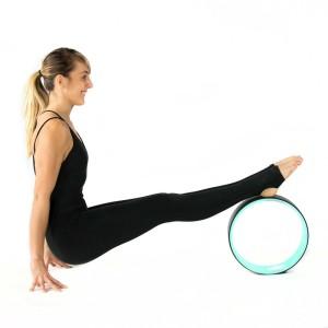 (BONUS BUKU PANDUAN ) Yoga Wheel Bahan TPE Premium SUPER