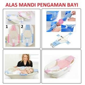 Jaring Mandi Bayi | Alat Bantu Mandi Bayi | Baby Net Bath Helper
