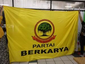 Bendera Partai Berkarya ukuran 2x3 meter
