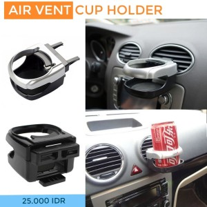 Tempat Minum Mobil / Multifunction Car Air Vent Drink Cup Holder
