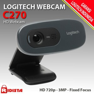 Logitech C270 Webcam HD 270p - L076