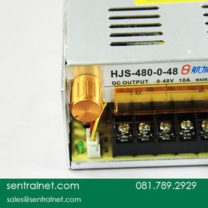 Adjustable Power Supply 0~48 VDC / 10 Amper