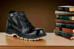 sepatu safety kickers kulit asli