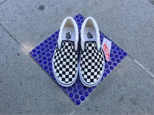vans slip on checkerboard japan