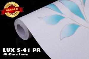 (PREMIUM QUALITY) Luxurious Wallpaper LUX 5-41 PR - Motif Bunga/Shabby