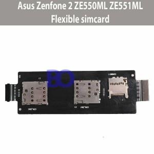 Asus zenfone 2 ZE551ML ZE550ML flexible simcard connector konektor sim