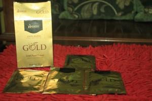 Masker Shiseido Gold/masker gold ..satuan