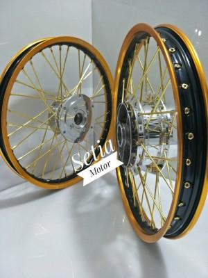 Velg Yamaha Mx King 150 - Paket Velg TDR Tromol Jari Jari Bonus Rakit