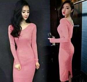 "gg holly dress pink "" pakaian cewek dress"