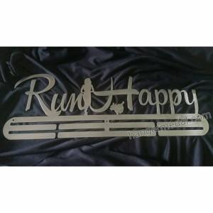 MEDAL HANGER - GANTUNGAN MEDALI - RUN HAPPY WOOF WOOF
