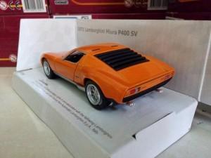 Miniatur Lamborghini Miura P400 SV Diecast Mobil Kinsmart 1971 murah