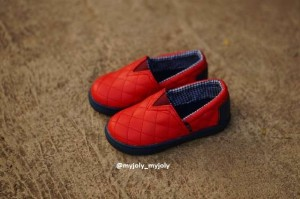Sepatu Anak branded | Decks Hamada Red
