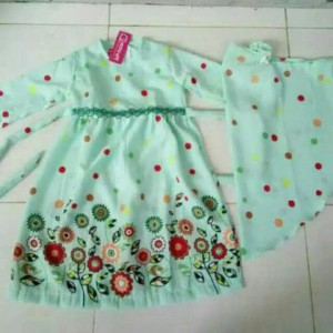 gamis qrana baby touch size 2