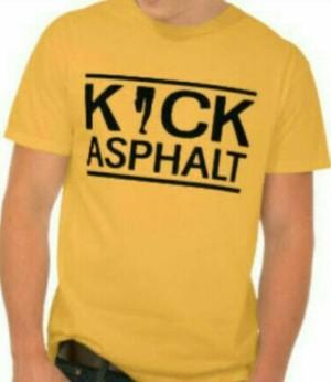 Kaos Shirt Kick Asphalt