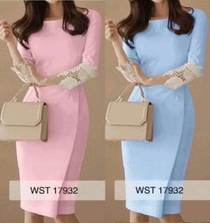 Guipure dress mc