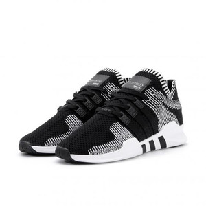 Sepatu adidas original eqt support adv pk primeknit black white 91/16