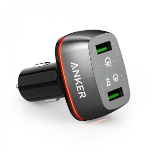 Anker PowerDrive+ 2 Dual port USB Car Charger Quick Charge 3.0