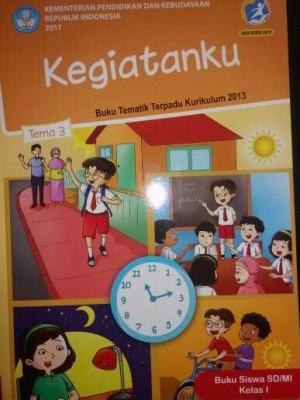 Buku Tematik SD Kelas.1 Tema 3 ( Kegiatanku )