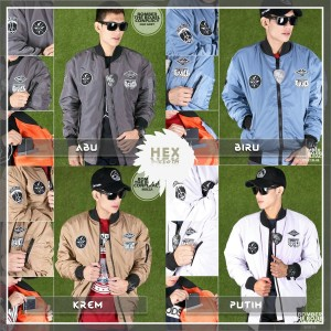 [THB] Jaket Bomber Bordir The Bojiel X