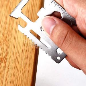 Gantungan kunci serbaguna camping hiking picknik pramuka multi tools
