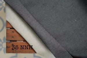 35 - Denim Gray Non Stretch Tebal Sedang bahan denim jeans kain