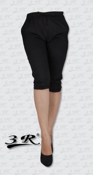 Sporty Jogger Pants, Celana Joger Pendek Wanita Katun 3R, Big XXXL