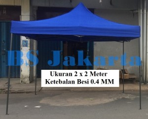 Tenda Lipat 2x2 Ketebalan Besi 0.4 MM