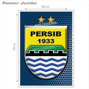 Poster Jumbo LOGO PERSIB FCL044 50 x 70cm .