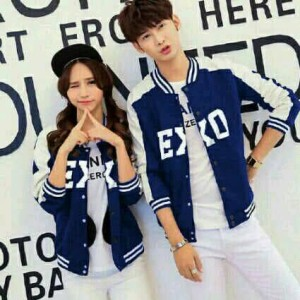 Cp jaket exo navy