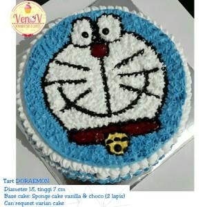 Kue Ulang Tahun Anak Doraemon Lucu Birthday Tart Cake Malang
