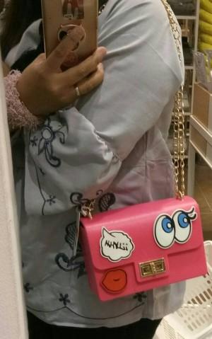 Jelly sling bag Melisa Bag Tas Silicon Bag