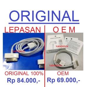 ORI Kabel Data iTouch iPod Classic nano 2 3 4 5 6 USB Charger ORIGINAL