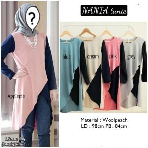 Baju Atasan Blouse Tunik Wanita Baju Muslim Blus Muslim