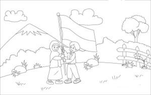 Gambar Untuk Lomba Mewarnai Anak Tk Tema Kemerdekaan Ada Lomba