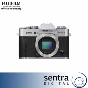 Fujifilm X-T20 Body Only Silver + Instax Share SP-2 ( XT20 )
