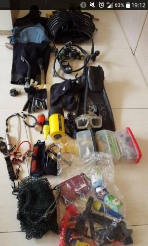 Scubapro Diving Gear (complete set second, Harga NEGO)