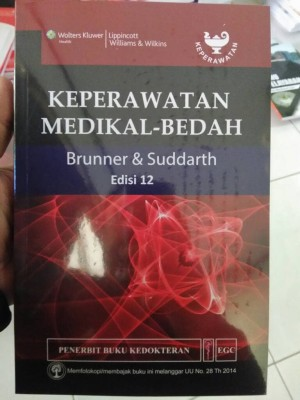 Keperawatan medikal-bedah brunner & suddarth ed.12- Susan C Smeltzer
