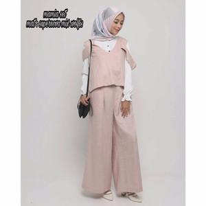 Baju Setelan Muslim Perempuan - Mamia Set Model - Tampil Anggun