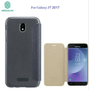 Flip Cover Samsung J7 Pro Nillkin Sparkle J7 2017