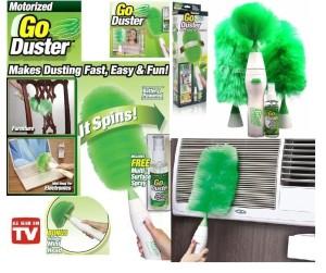 Go Duster Kemoceng Elektrik Clean Tools Pembersih Debu