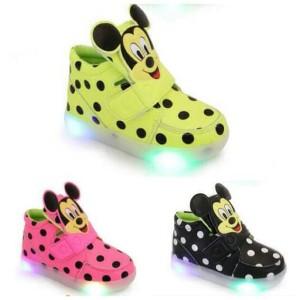sepatu anak mickey mouse
