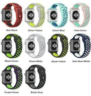 NEW COLOR strap apple watch nike sport band 38mm n 42mm series 1 & 2