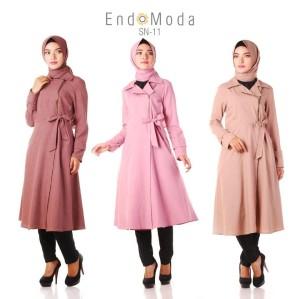 SN 11 - Endomoda /Tunik Muslim+Pashmina/Blouse Muslim