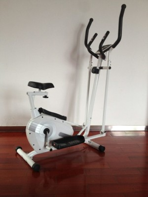 Elliptical Bike FS Robocop alat fitness sepeda statis