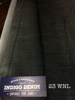 23 - Denim Black Washed non Stretch Tipis light weight grosir jeans