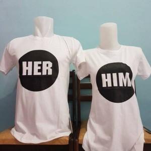 baju couple sablonan her him